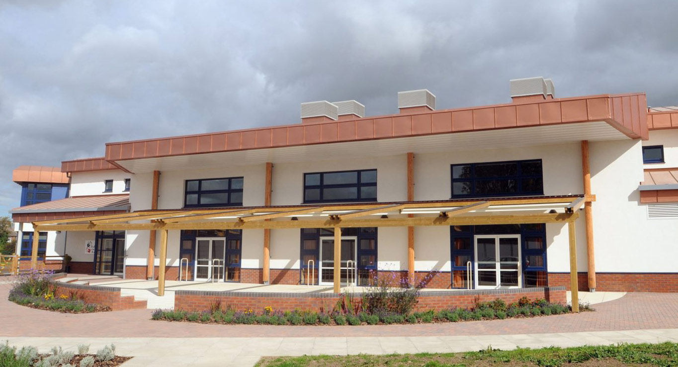 Awnings for Schools by Deans for Clifton School