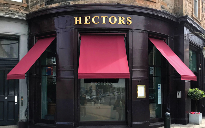 Deans Bar Awning for Hectors
