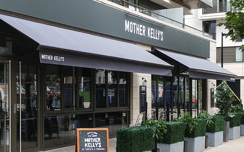 Bespoke Awnings by Deans for Mother-Kelly