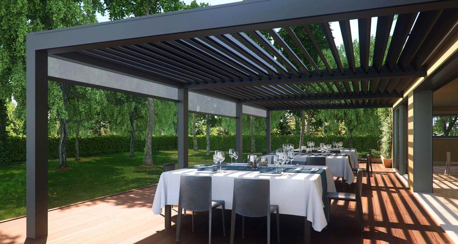 Awnings for Terraces & Outdoor Areas by Deans Blinds