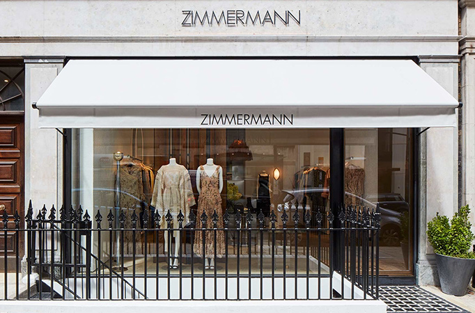 Shop Awnings by Deans for Zimmermann
