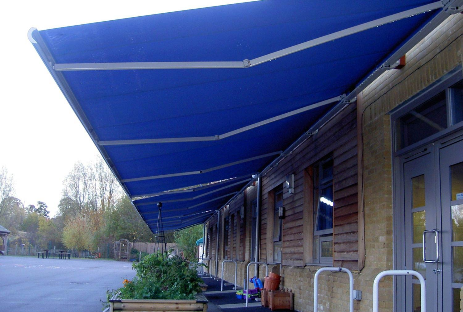 Awnings for Schools by Deans for Bromley School
