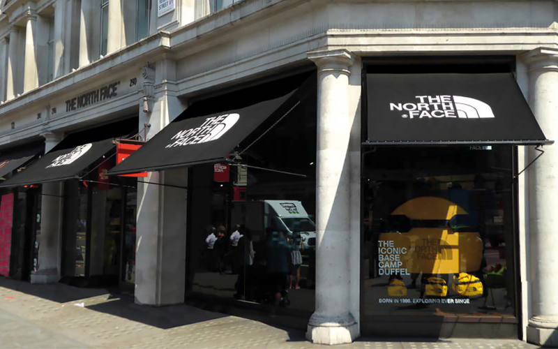 Shop Awnings by Deans for North Face