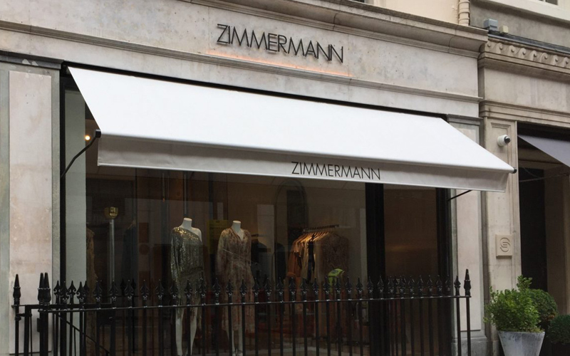 Commercial Awnings by Deans for Zimmermann