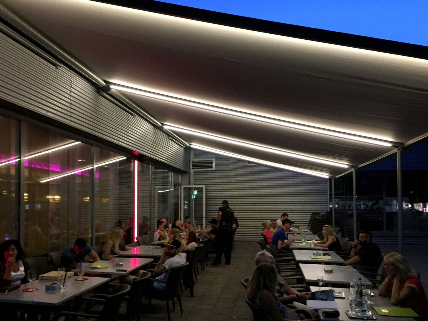 Awnings for Terraces & Outdoor Areas by Deans Binds