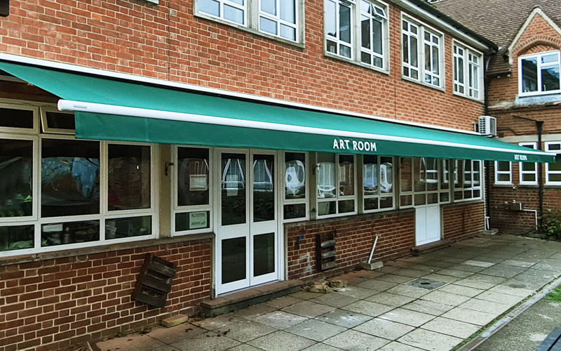 Awnings for Schools by Deans for Sunnydown School