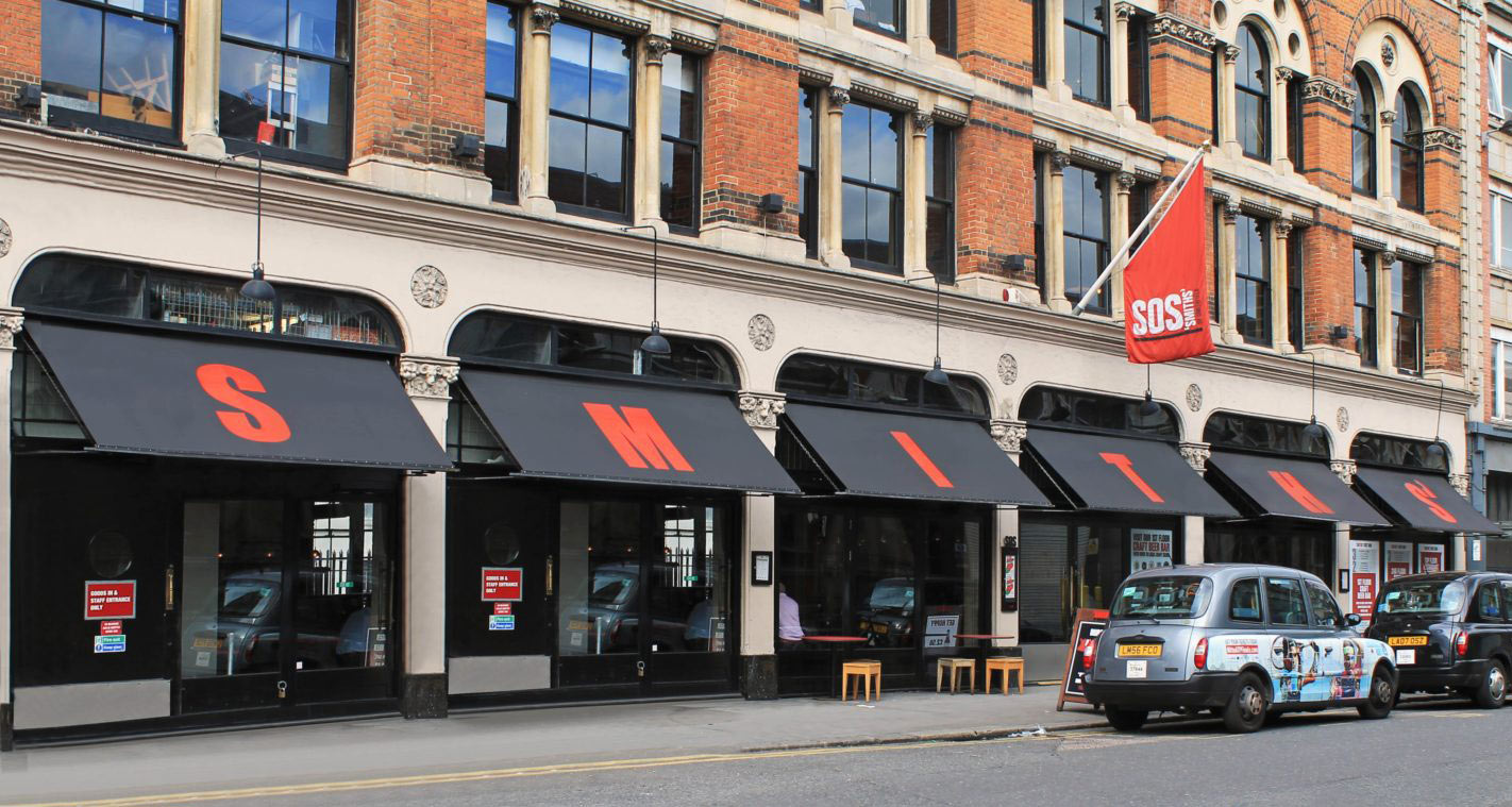 Commercial Awnings by Deans for Smiths