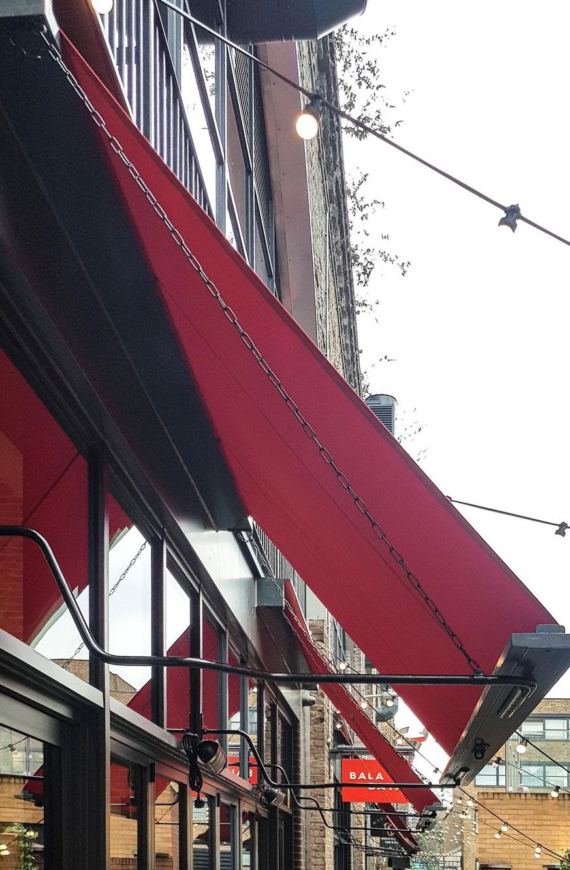 shop awning
