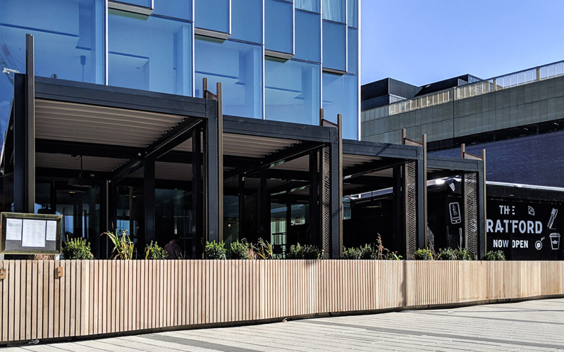 Terrace Awnings by Deans for Stratford