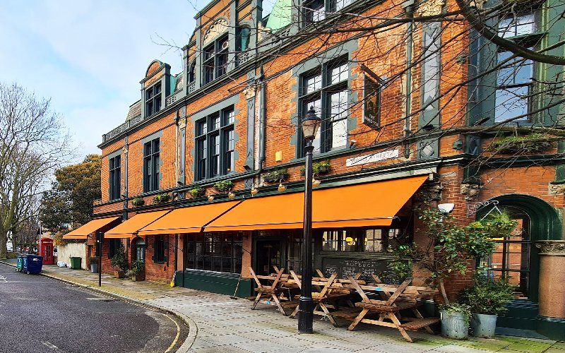 Traditional awnings