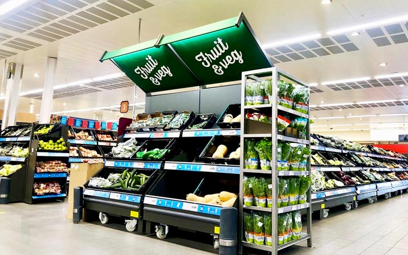 Display Awning for Sainsburys
