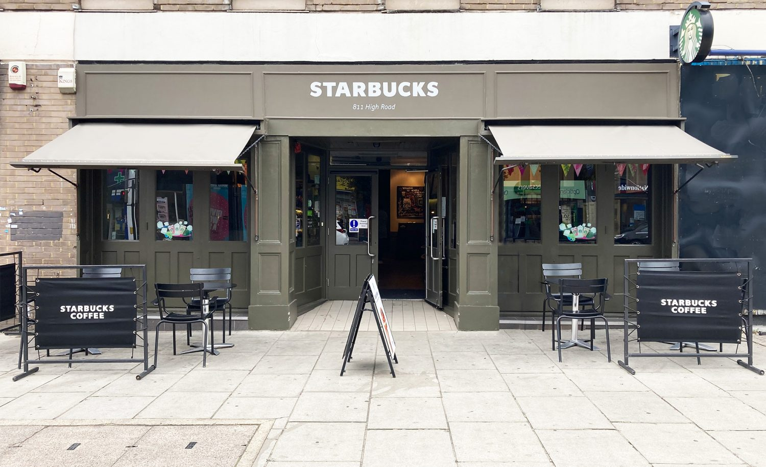 Starbucks - Victorian Awning Recover