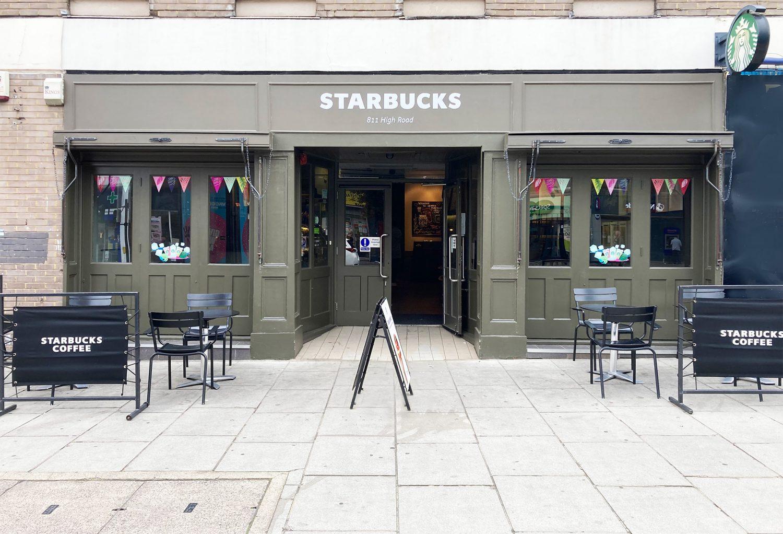 New Awnings for Starbucks