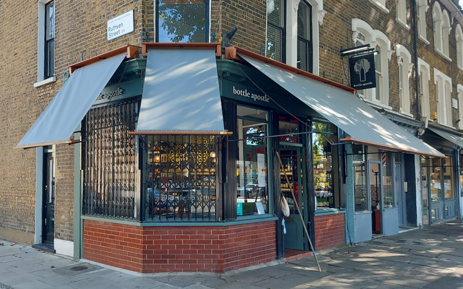 Recent Deans Commercial awning installation